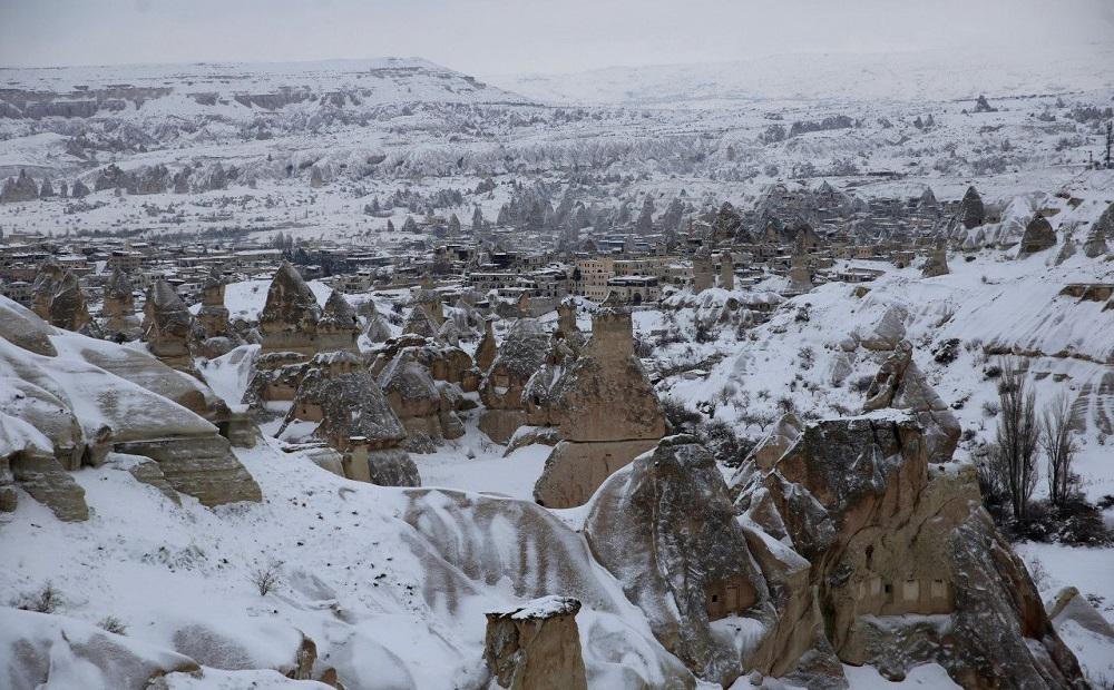Kapadokya'da Yılbaşı Turu